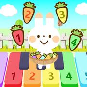 兔子跳跳我会弹钢琴