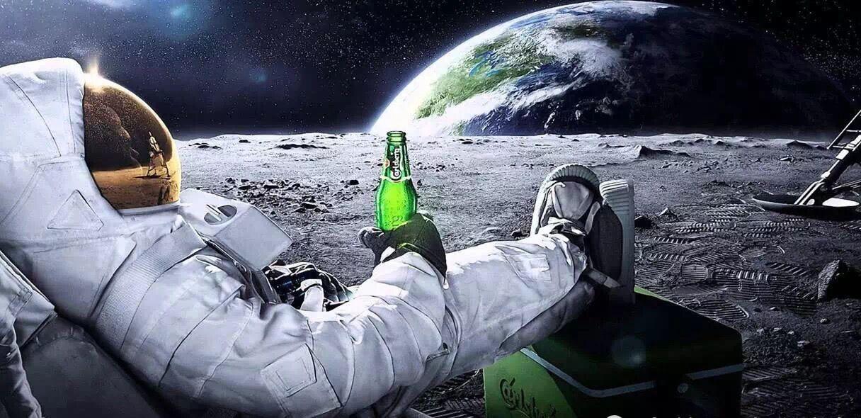 抖音月球上过五一表情原图