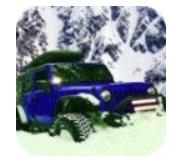 吉普车雪地驾驶