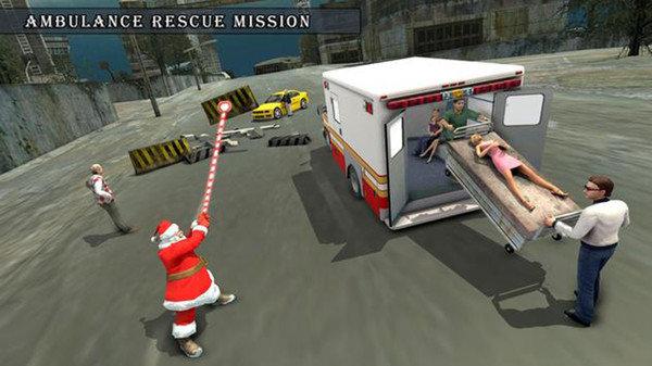 圣诞老人绳英雄截图