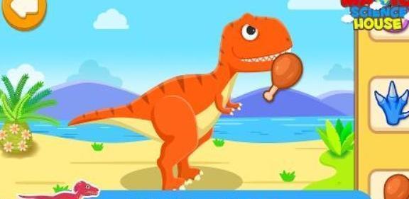 天才宝宝恐龙世界截图