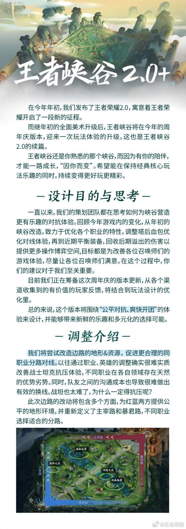 《王者荣耀》四周年新版地图内容详解