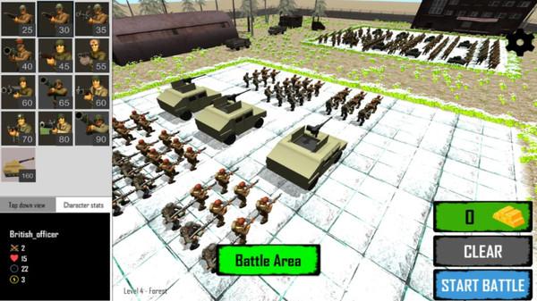 人类真实战争模拟