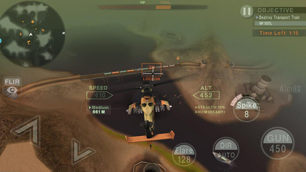 喋血直升机截图