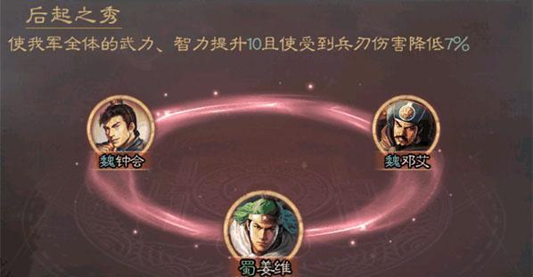 三国志战略版邓艾阵容搭配玩法