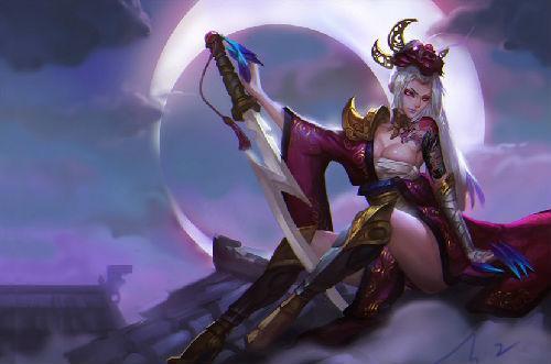 皎月女神重做细节:E技能与R技能互换可玩性大幅度提升