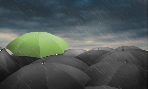 """惨!干旱小国人工降雨却引发暴雨 豪华商场漏水如瀑布变""""水帘洞"""""""