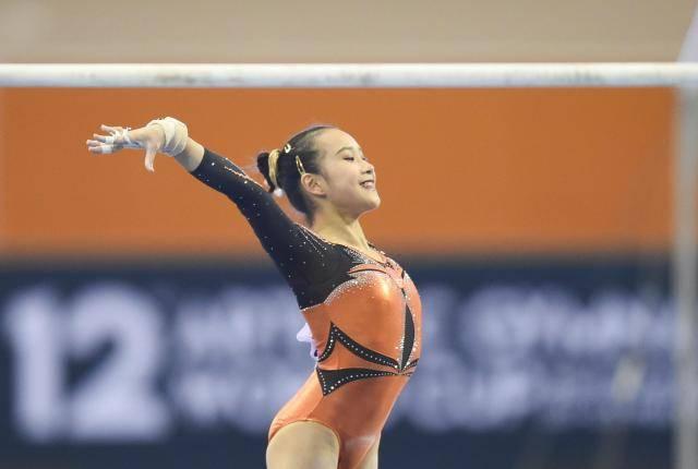 中国体操单日四金