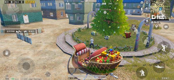 和平精英圣诞树的位置在哪 圣诞树的具体位置介绍