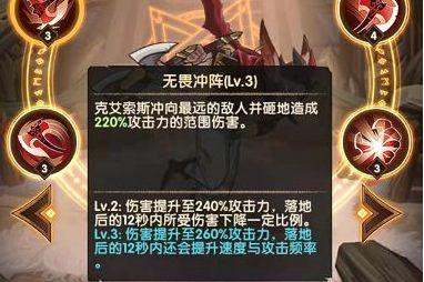 剑与远征克艾索斯玩法 艾索斯英雄搭配及技能