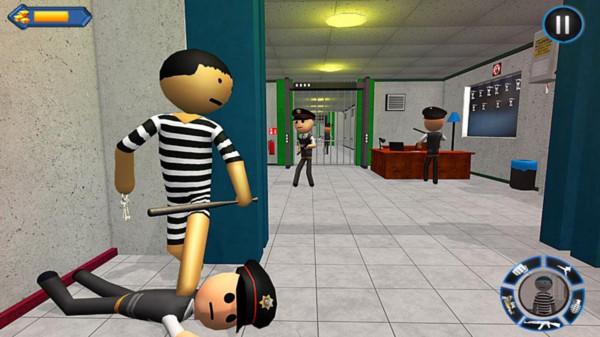 火柴人警察追捕截图