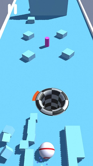 黑洞吞球3D截图