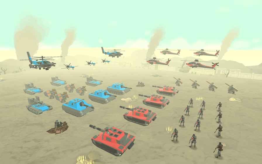 军队战争模拟器截图