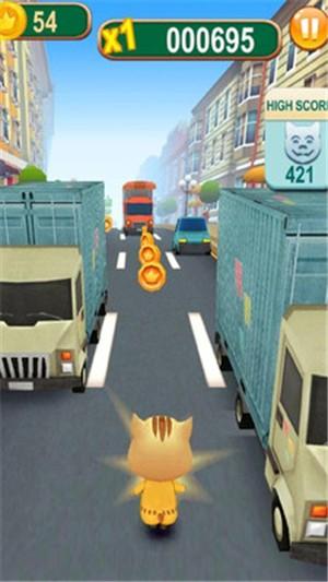 地铁猫咪跑酷截图