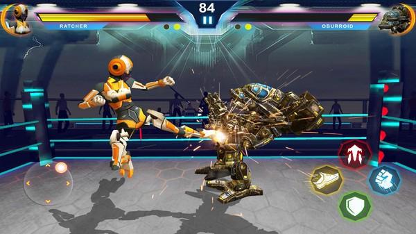 机器人变形战斗截图