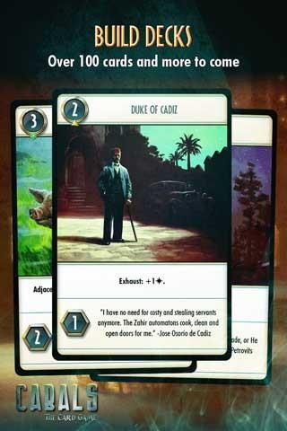 阴谋卡牌游戏截图