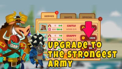 城堡怪物防御战截图