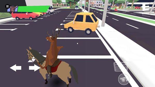 压死人类的鹿模拟器