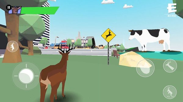 压死人类的鹿模拟器截图