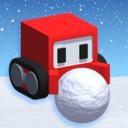 方块人滚雪球
