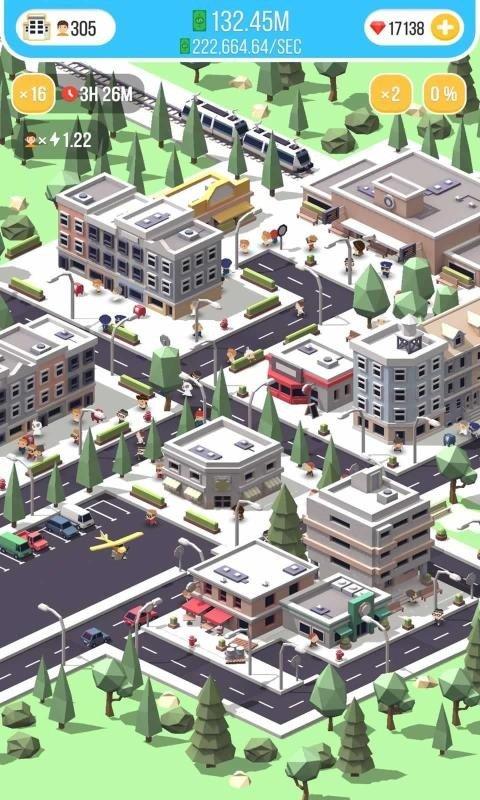 空闲岛城市建筑大亨截图