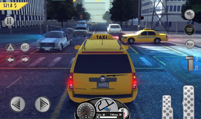 出租车司机截图