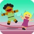 模拟跳绳运动会