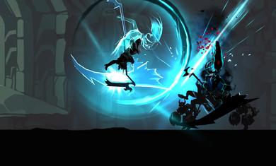 死亡之影黑暗骑士火柴人截图