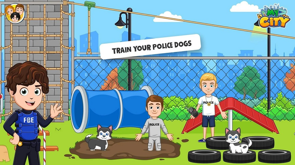我的小镇警察与强盗