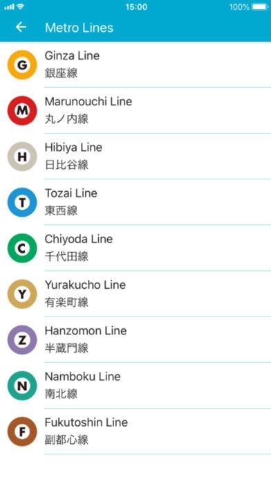 东京地铁截图