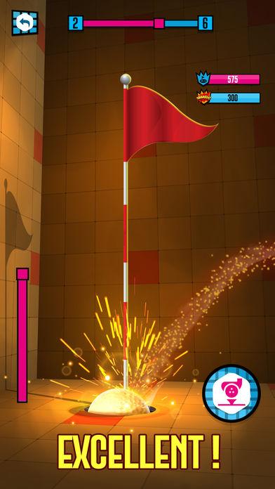 高尔夫球球粉碎截图
