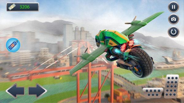 摩托车飞行截图