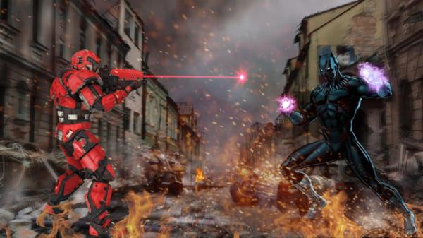 闪光豹英雄城市战争截图