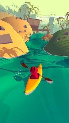 小溪划船截图