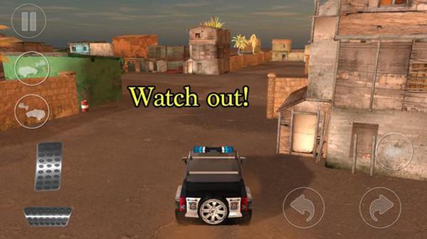 4x4越野警车截图