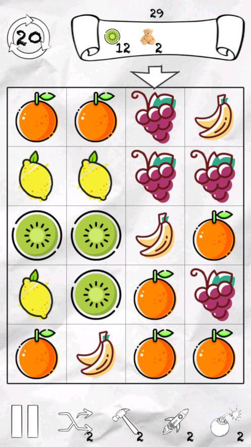 消除水果大冒险