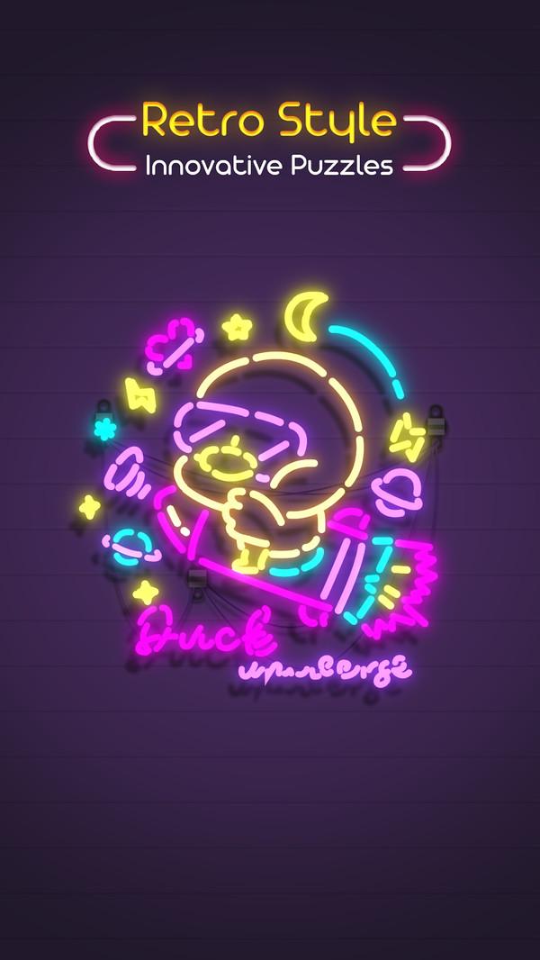 霓虹灯幻视空间截图