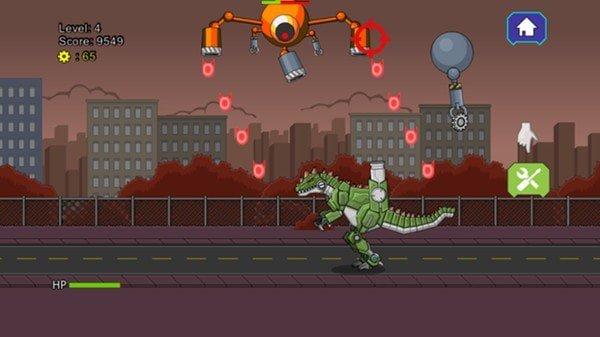 机器恐龙大战巨兽龙截图
