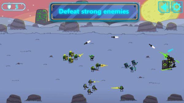 太空入侵防御战截图