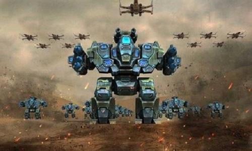 未来派战正机器人