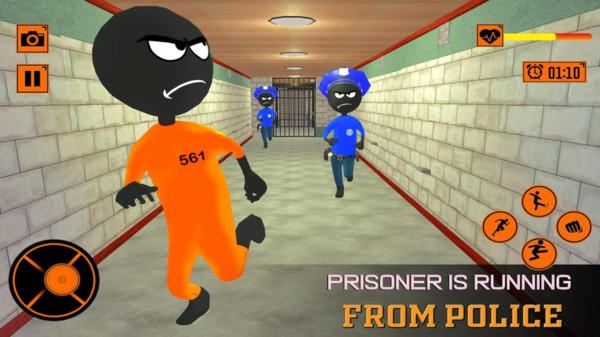 火柴人逃脱越狱截图