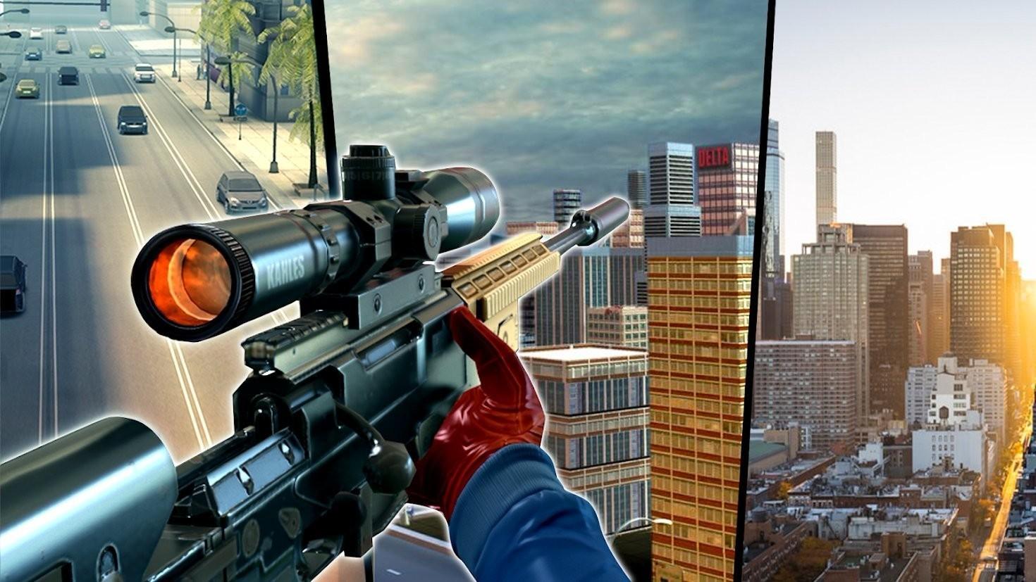 城市狙击手三维射击截图