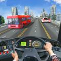 现代城市公交车驾驶