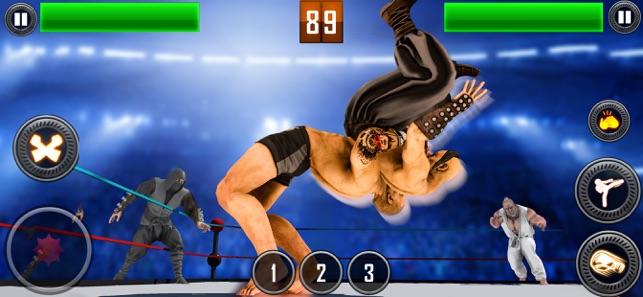 真正的摔跤2020截图