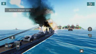 战列舰闪电战海战截图
