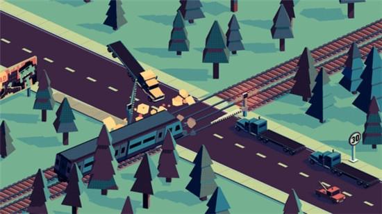 复古铁路口截图