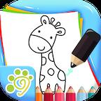 儿童涂鸦涂色简笔画免费版