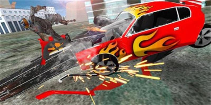 皇家积木汽车碰撞游戏