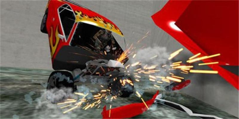 皇家积木汽车碰撞游戏截图