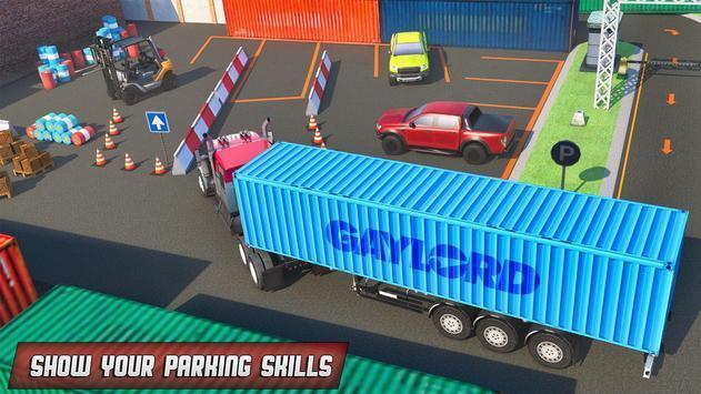 港口卡车司机停车截图